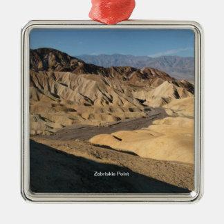 Zabriskie Point - Death Valley, California Metal Ornament
