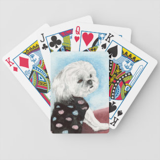 Zac the Maltese Bicycle Playing Cards