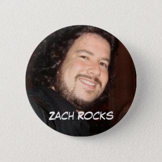 zach2, Zach Rocks 2 Inch Round Button