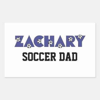 Zachary in Soccer Blue