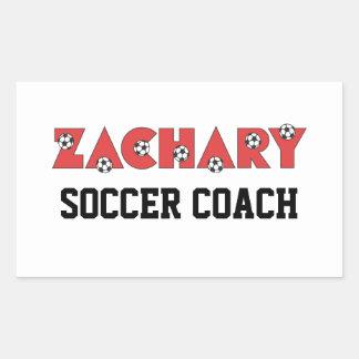 Zachary in Soccer Red