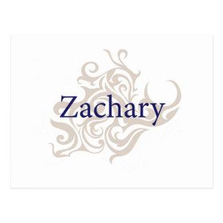 Zachary Postcard