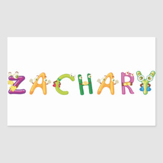 Zachary Sticker
