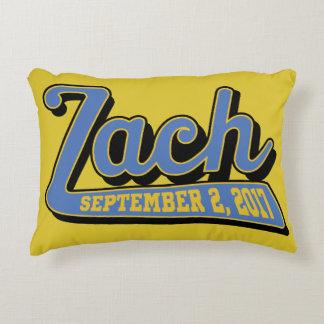 zach's bar mitzvah accent pillow