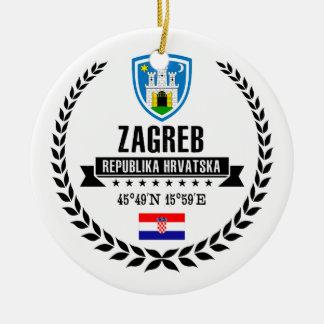 Zagreb Ceramic Ornament