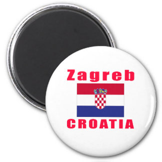 Zagreb Croatia capital designs Magnet