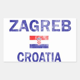 Zagreb Croatia Designs Sticker
