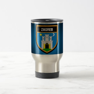 Zagreb Flag Travel Mug
