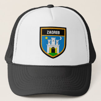 Zagreb Flag Trucker Hat