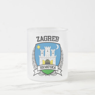Zagreb Frosted Glass Coffee Mug