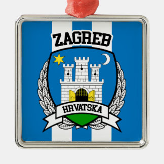 Zagreb Metal Ornament