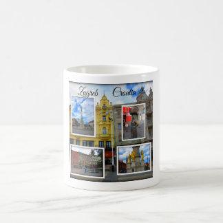 Zagreb Old Town Photo Collage Coffee Mug