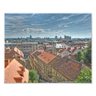 Zagreb Photo Print