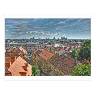 Zagreb Postcard
