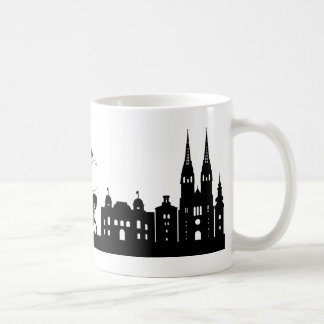 Zagreb silhouette mug