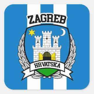 Zagreb Square Sticker