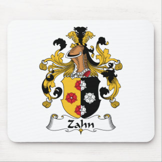 Zahn Family Crest Mouse Pad