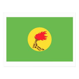 Zaire Flag (1971-1997) Postcard