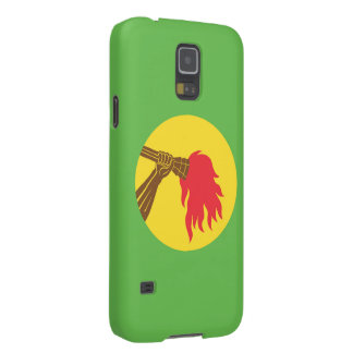Zaire Flag Galaxy S5 Cover