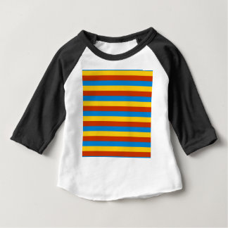 Zaire flag stripes baby T-Shirt