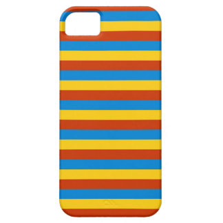 Zaire flag stripes case for the iPhone 5