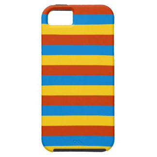 Zaire flag stripes iPhone 5 cases