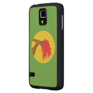 Zaire Flag Carved® Maple Galaxy S5 Case