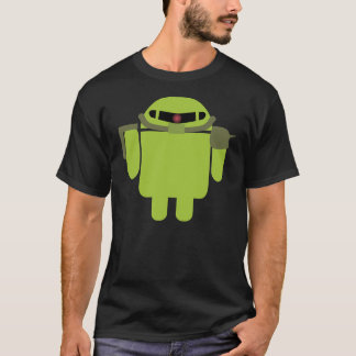 Zakudroid (black) T-Shirt