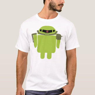Zakudroid (White) T-Shirt