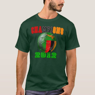 Zambia beat Ivory Coast - 2012 Champions of Africa T-Shirt