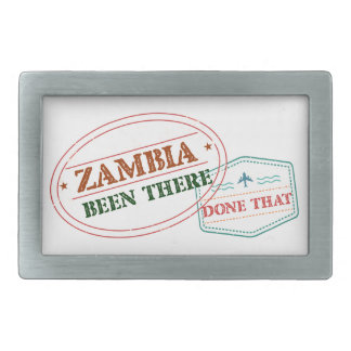Zambia Been There Done That Belt Buckle