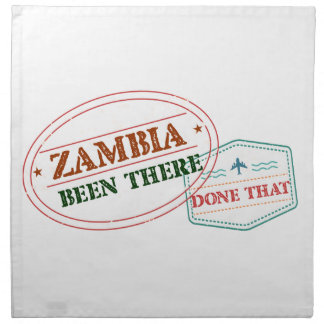 Zambia Been There Done That Napkin