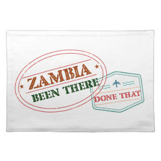 Zambia Been There Done That Placemat