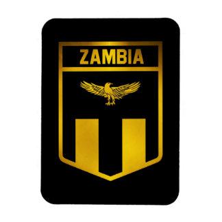 Zambia Emblem Magnet