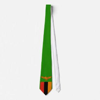 Zambia Flag Tie