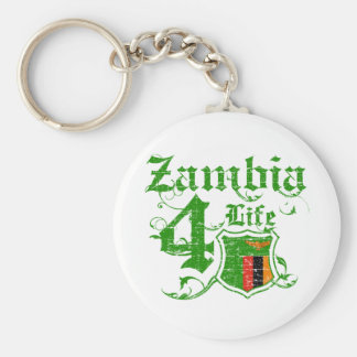 Zambia for life keychain