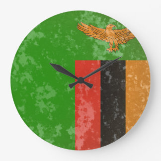 Zambia Large Clock