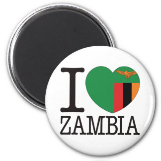 Zambia Love v2 Magnet