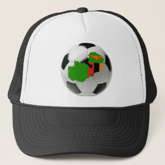 Zambia national team trucker hat