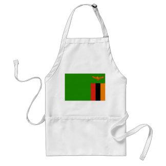 Zambia National World Flag Standard Apron