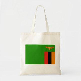 Zambia National World Flag Tote Bag