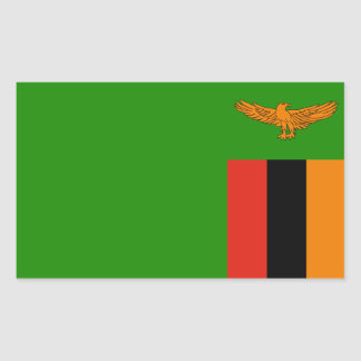 Zambia/Zambian Flag Sticker