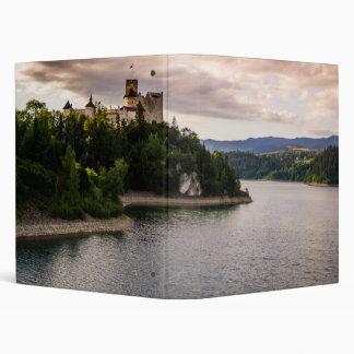 Zamek Niedzica, Castle By Sunset Lake 3 Ring Binders