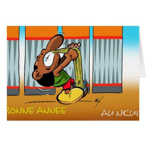 ZAMZAM carte de voeux Cards
