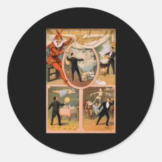 Zan Zig Classic Round Sticker