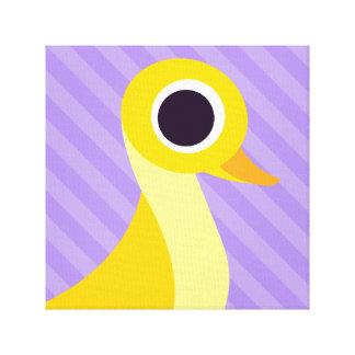 Zander the Duck Canvas Print