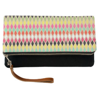 Zaney Harlequin Clutch