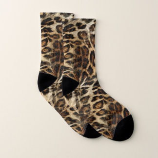 Zany and Spiffy Leopard Spots Leather Grain Look 1