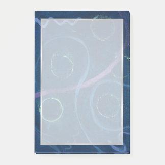 Zany Office | Trendy Chalk Pastel Fun Scribble Post-it® Notes