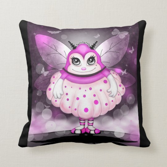 ZAP ALIEN MONSTER CUTE THROW PILLOW 16 X 16